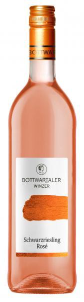 2020 Schwarzriesling Rosé halbtrocken 0,75 L BASIC - Bottwartaler Winzer