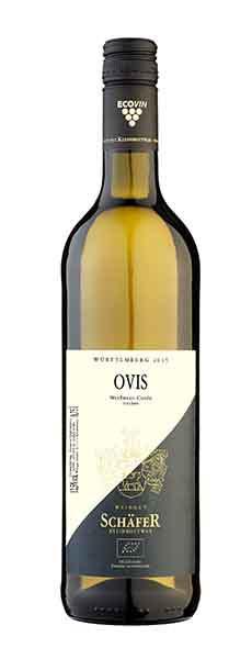 2019 OVIS Weisswein Cuvée trocken 0,75 L Bio - Weingut Schäfer Kleinbottwar