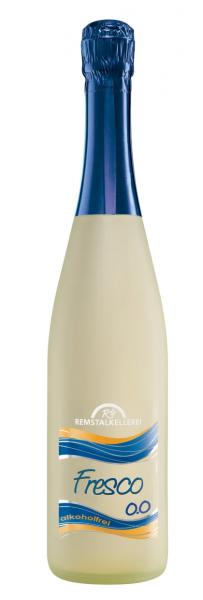 FRESCO alkoholfrei 0,75 L Perlendes Erfrischungsgetränk mit Traubensaft - Remstalkellerei