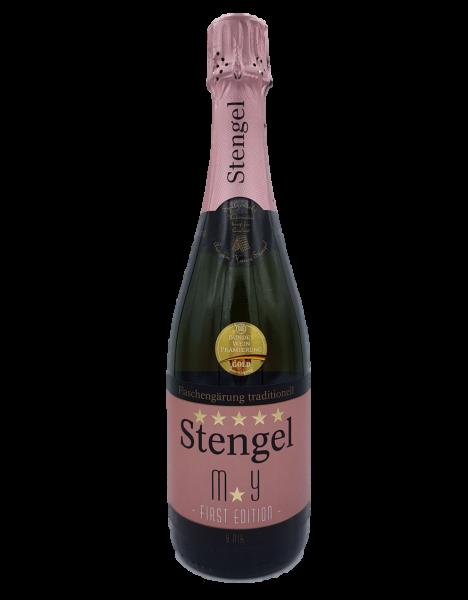 Stengel Cuvée MY First Edition Rosé Sekt trocken o,75 L traditionelle Flaschengärung - Sekt -und Wei