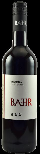 2019 HANNES Rot trocken 0,75 L Rotwein Cuvée - Weingut Bähr