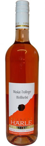 2019 Muskat-Trollinger Weißherbst 0,75 L lieblich - Weingut Härle