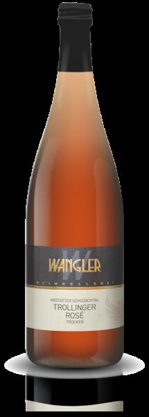 2019 Trollinger Rosé trocken 1,0 L Abstatter Schozachtal - Weinkellerei Wangler