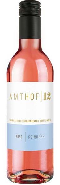 2018 Rosé feinherb 0,25 L - Amthof 12