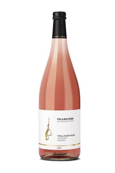 2020 Trollinger Rosé trocken 1,0 L Schiefer - Fellbacher Weingärtner