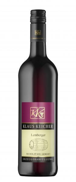 Lemberger trocken 0,75 L im Eichenfass gereift - Privatkellerei Klaus Keicher