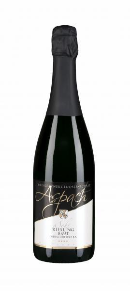 Riesling Sekt brut 0,75 l - Weingärtnergenossenschaft Aspach eG