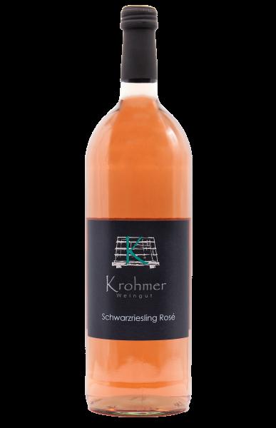2020 Schwarzriesling Rosé 1,0 L halbtrocken - Familie Krohmer