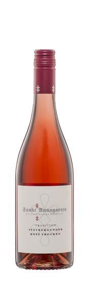 2020 Spätburgunder Rosé trocken Biowein 0,75 L TRADITION - Sankt Annagarten Biologisches Weingut