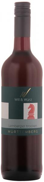 2019 Lemberger trocken 0,75 L EQUES – Weingut Will und Würz