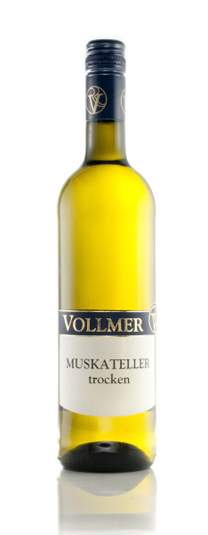 Muskateller trocken 0,75 L - Weingut Vollmer