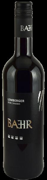 2018 Lemberger trocken 0,75 L Holzfass - Weingut Bähr