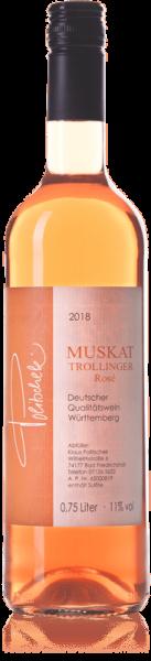 2019 Muskattrollinger Rosé 0,75 L feinherb - Weingut Politschek