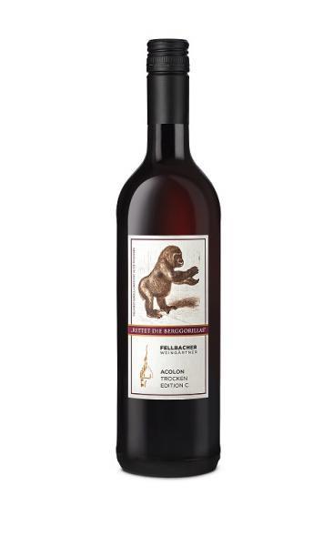 "Acolon trocken ""Rettet die Berggorillas"" 0,75 L - Fellbacher Weingärtner"