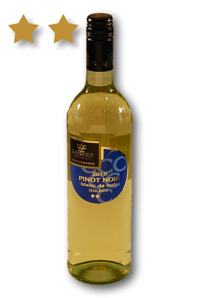 2020 Pinot Noir Blanc de Noir ** 0,75 L halbtrocken – Weingut Laicher