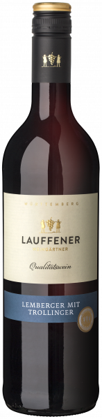 2018 Lemberger mit Trollinger 0,75 L halbtrocken - Lauffener Weingärtner