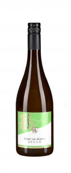 Secco Blanc de Blancs 0,75 L fruchtig prickelnd frisch - Weingärtnergenossenschaft Aspach