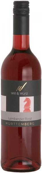 2019 Lemberger Rosé fruchtig 0,75 L EQUES – Weingut Will und Würz