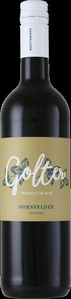 2016 Dornfelder trocken 0,75 L - Weingut Golter