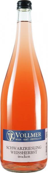 Schwarzriesling Weißherbst trocken 1,0 L - Weingut Vollmer