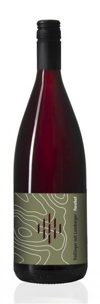 2020 Trollinger mit Lemberger halbtrocken 1,0 L Biowein – Weingut Forsthof