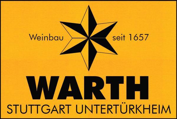 2019 Uhlbacher Trollinger Weißherbst feinherb 1,0 L - Weingut Warth