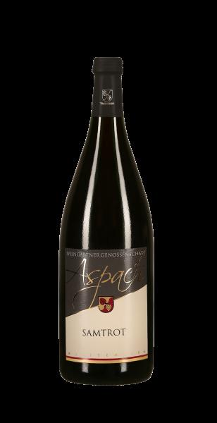 2019 Samtrot halbtrocken 1,0 L TRADITION - Weingärtnergenossenschaft Aspach