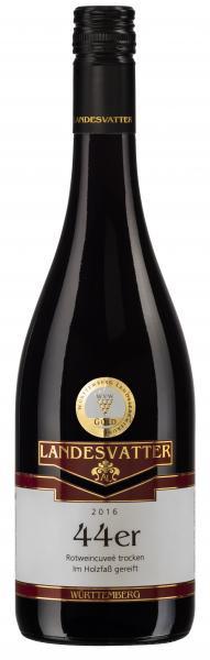 2018 Rotwein Cuvée -44er- trocken 0,75 L Barrique - Weingut Anita Landesvatter