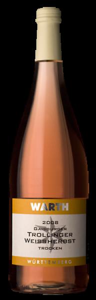 2019 Gaisburger Trollinger Weißherbst trocken 1,0 L - Weingut Warth